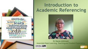 Introduction to Academic Referencing